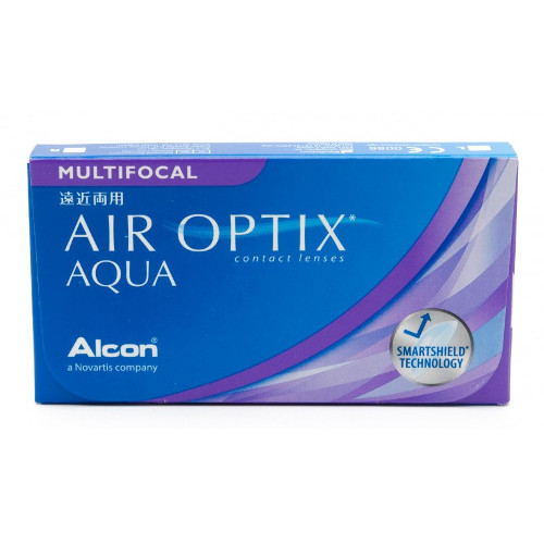 kontaktlencse air optix aqua multifocal 3 db
