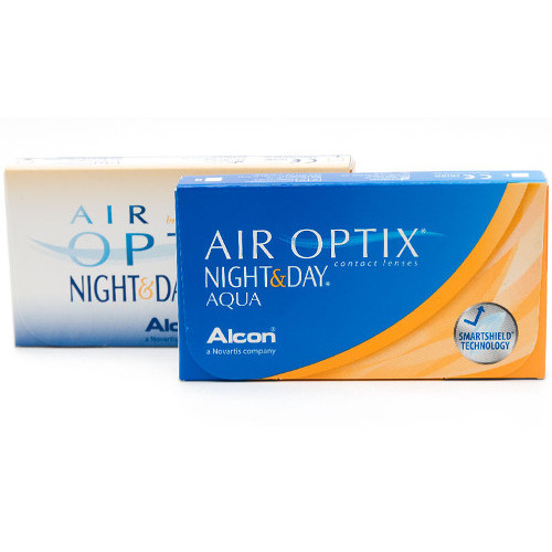 kontaktlencse Air Optix Night&Day Aqua 6 db